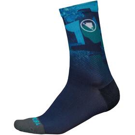 Endura SingleTrack II LTD Socken Herren marineblau